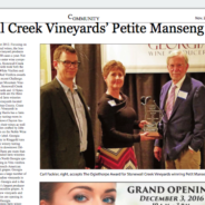 Clayton Tribune features Stonewall Creek honors